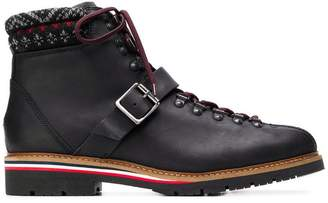 Tommy Hilfiger knit trim ankle boots