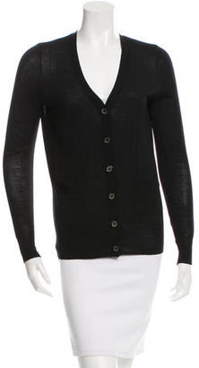 Vera Wang Wool Semi-Sheer Cardigan $55 thestylecure.com