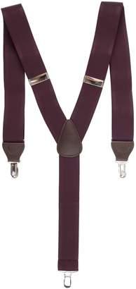 Black Brown 1826 Textured Stretch Suspender