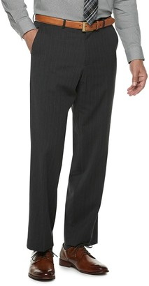 Men's Palm Beach Oxford Classic-Fit Flat-Front Suit Pants