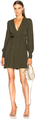 Zimmermann Breeze Wrap Mini Dress