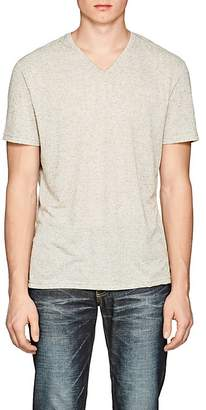 Barneys New York MEN'S MÉLANGE V-NECK T-SHIRT