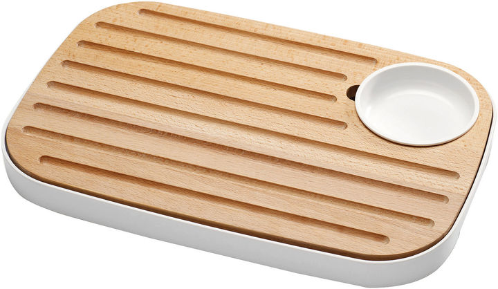 Joseph Joseph Slice and Serve Cutting Board and Condiment Bowl