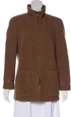 Akris Lightweight Wool Coat