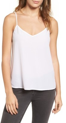 Women's Ag Lisette Silk Tank $138 thestylecure.com