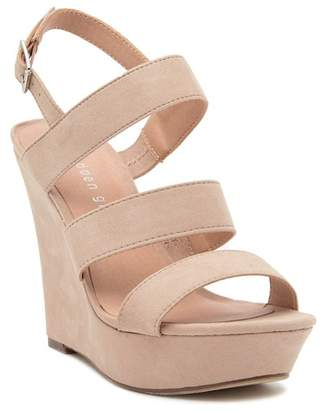 Madden-Girl Blenda Wedge Platform Ankle Strap Sandal