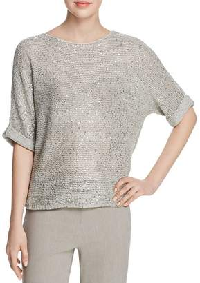 Nic+Zoe Sequined Knit Top