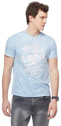 Red Herring Light Blue 'Wipeout' Print T-Shirt