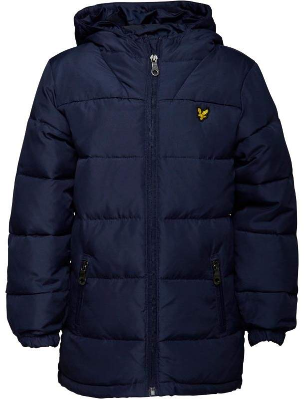 Junior Boys Down Puffer Coat Deep Indigo
