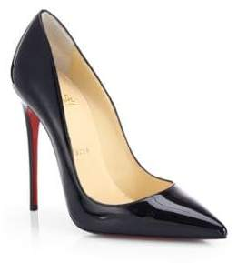 Christian Louboutin So Kate 120 Patent Leather Pumps