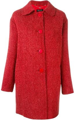 Twin-Set single breasted coat $369.81 thestylecure.com