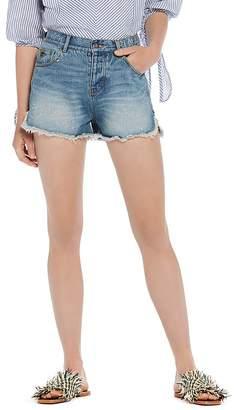 Scotch & Soda Frayed Denim Shorts