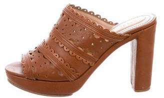 See by Chloe Leather Slide Sandals