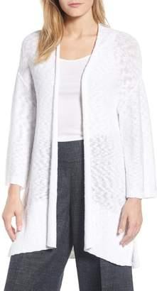 Eileen Fisher Long Organic Cotton Cardigan