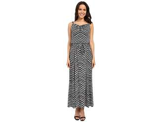 Calvin Klein Maxi Dress w/ Hardware Women's Dress