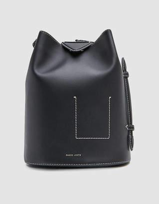 Danse Lente Jamie Leather Backpack in Black