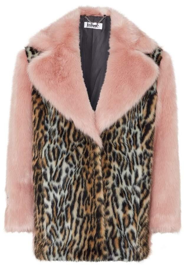 Jakke Pink Fur Coat
