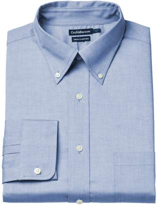 Croft & Barrow Men's Easy-Care True Comfort Regular-Fit Stretch Dress Shirt