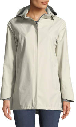 Herno Three-Ply Raincoat w/ Removable Hood