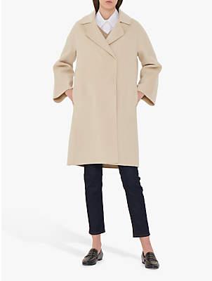 Gerard Darel Marilou Wool Coat, White