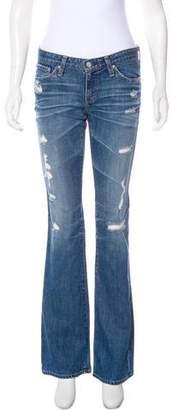 Adriano Goldschmied Wide-Leg Low-Rise Jeans
