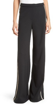 Women's Tracy Reese Wide Leg Track Pants $268 thestylecure.com