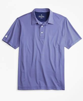 Brooks Brothers Performance Series Feeder Stripe Polo Shirt