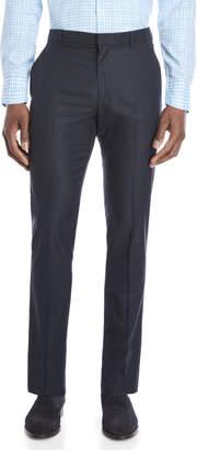 Perry Ellis Slim Fit Nails Head Print Dress Pants