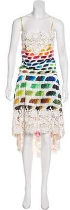 Chanel Colorama Silk Dress