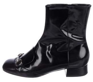 6a561dbc0f2634 Gucci Lillian Horsebit Mid-Calf Boots