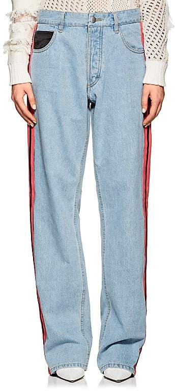 Koche Women's Side-Striped Slouchy Jeans