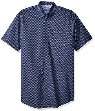 Wrangler Men's Size 20X Competition Tall Short Sleeve Button Front Shirt