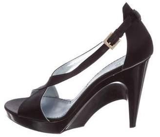 Givenchy Crossover Platform Sandals