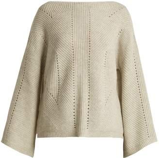 Nili Lotan Leyton bell-sleeve cashmere sweater