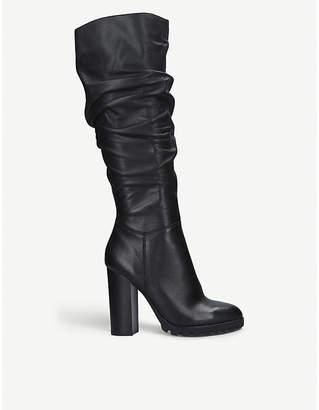 Aldo Gigondra knee-high leather boots