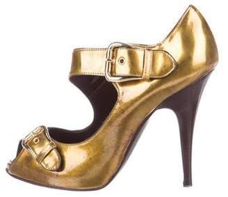 Giuseppe Zanotti Patent Leather Mary Jane Pumps