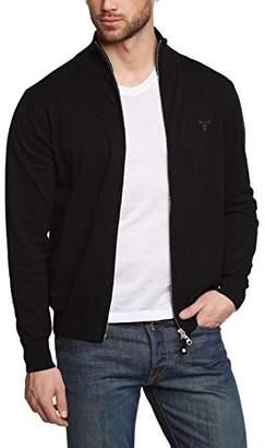 Gant Men's Light Weight Cotton Zip Cardigan
