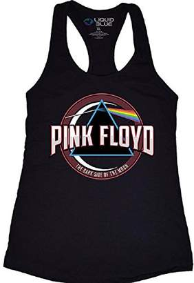 Liquid Blue Women's Pink Floyd Blue Prism Racerback Tank Top