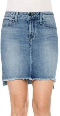 Joe's Jeans High-Low Stretch Skirt