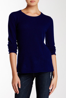 Philosophy Cashmere Long Sleeve Cashmere Pullover Sweater $148 thestylecure.com