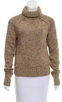 Tory Burch Ribbed Knit Turtleneck