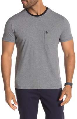 Original Penguin Striped Short Sleeve Pocket T-Shirt
