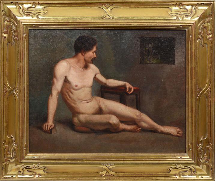One Kings Lane Vintage Paris School Male Nude