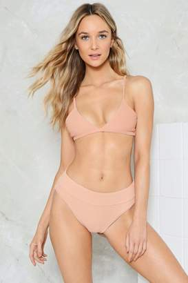 Nasty Gal Alina Mix & Match Triangle Bikini Top