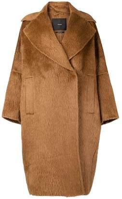 Atelier oversized midi coat