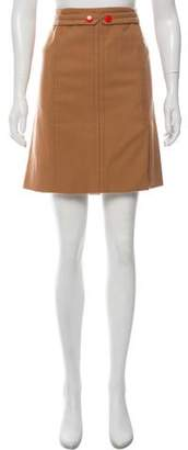 Marc by Marc Jacobs Knee-Length Wool Skirt