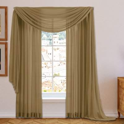Wayfair Conelley Sheer Curtain Panels