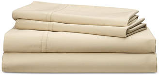 Lauren Ralph Lauren Spencer Cotton Sateen Count 4-Pc. Solid Queen Sheet Set Bedding