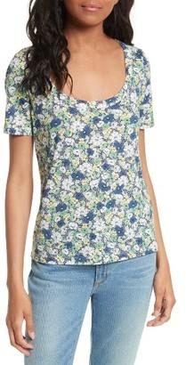 Women's La Vie Suzette Floral Jersey Tee $150 thestylecure.com