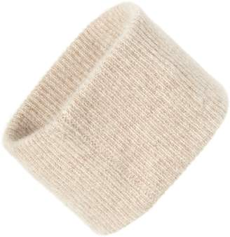 Halogen Ribbed Cashmere Head Wrap